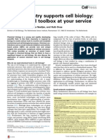 How Chemistry Supports Cell Biology the Chemical Toolbox at Your Service