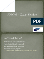 AXIOM _ Gyan Session