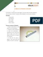 Como Elaborar Un Clinometro Artesanal