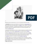 Breve Historia de La Masturbacion u Onanismo
