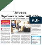 AYG Committee unveils H1N1 flu precaution plans, 19 Jun 2009, My Paper(1)
