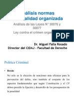 285 20 Análisis Normas Criminalidad Organizada Dr Falla
