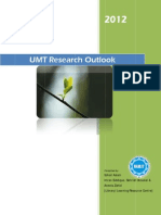 UMT Research Outlook 2012