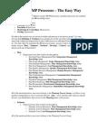 Memorize PMP Processes