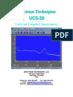 UCS30 Manual