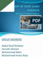 Eye Camp at Sher Shah Karachi