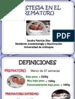 Anestesia Para El Prematuro