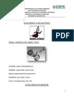 informe sistema de dirección