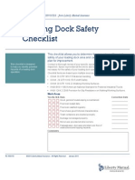 Loading Dock Safety Checklist