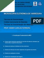 Microscopia Eletrônica de Varredura - Revisado