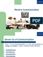 7 C's of Effective Communication - Business Communication Course