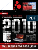 TechSmart 76, January 2010, The Trends for 2010 Issue.