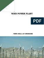 4. Wind Power Plant