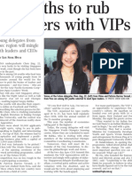 116 youths to rub shoulders with VIPs, 11 Nov 2009, Straits Times