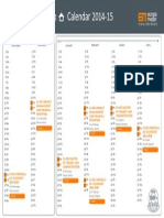 Europa Media Training Calendar-2015