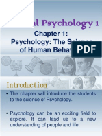 Introduction to General Psychology