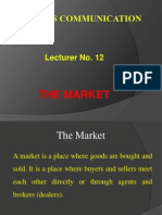 11. The Market.ppt