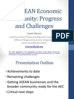 Will ASEAN Realize Its Community?