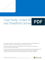 SharePoint 2013 Case Study - United Airlines.docx