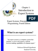 Intro to Expert System