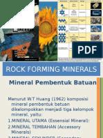 Rock Forming Minerals