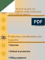 Pilot Plant Capsules Tablets ES