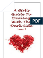 Lesson 2 - A Girl's Guide To Dealing With The Dark Side - the life of Bella Swan