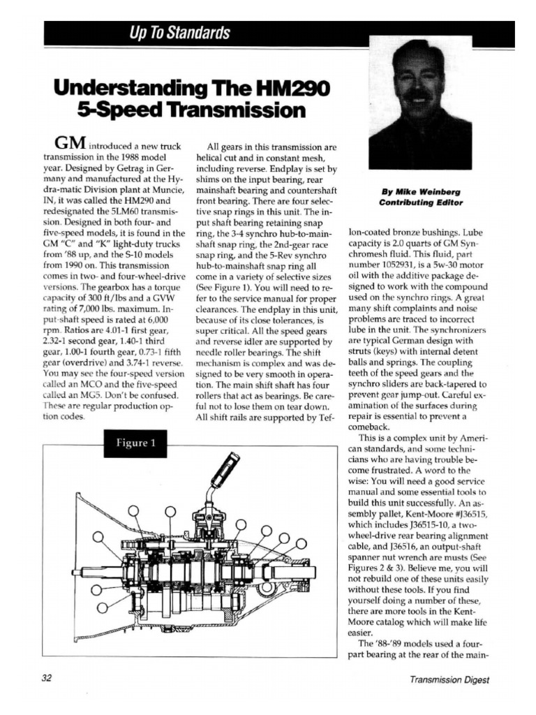 About the NV3500 Transmission