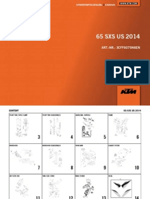 KTM START FRONT NUMBER PLATE WHITE 2011 2012 2013 14 15 65 SX SXS 4620800700028