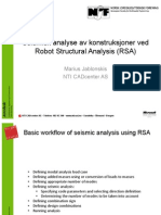 RSA - Modal Seismic