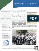 Ocha Palestine Humanitarian Bulletin Oct. 2014