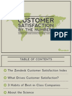 Zendesk Satisfaction Report