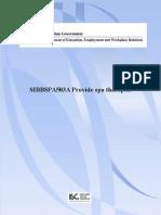 Release 1 SIBBSPA503A Provide Spa Therapies