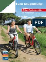 Flyer zum Radfernweg Alte salzstraße