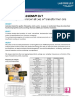 OIL Quality Assessment Transformer A41