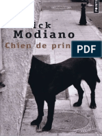 Chien de Printemps - Patrick Modiano