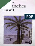 Dimanches d'Aout - Patrick Modiano