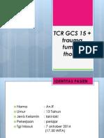 trauma tumpul thorax