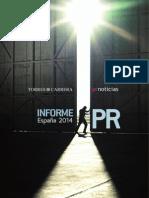 Informe PR Spain 2013