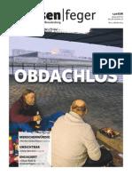 Ausgabe 21/2014 des strassenfeger - Obdachlos