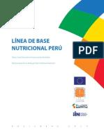 Línea de Base Nutricional Perú