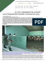 El Manual Del Guardia Nacional Chilena de 1974, Para Identificar ¿Quién Es Comunista