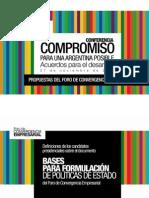 Foro de Convergencia Empresarial - Candidatos Opositores