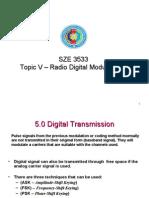b5 Radio Digital Modulation -comm theorem