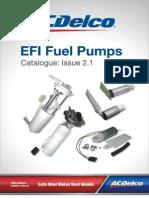 Catalogue ACDelco FuelPumps