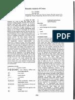 Sem.org IMAC XIX 194301 Dynamic Analysis Cranes