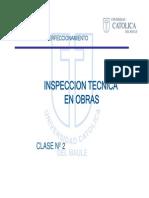 Inspeccion Tecnica en Obras Clase 2