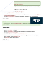 goals document for melbourne declaration page on weebly