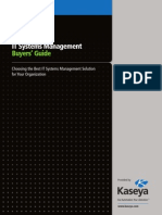 IT Systems Management Buyers' Guide