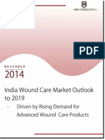 Advanced wound care Industry Revenue in India